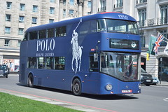 LT 162 (LTZ 1162) RATP London United (hotspur_star) Tags: londontransport londonbuses londonbus londonbuses2018 wrightbus newbusforlondon newroutemaster nb4l tfl transportforlondon borisbus borismaster hybridbus hybridtechnology busscene2018 doubledeck ratplondonunited lt162 ltz1162 alloveradvert advertlivery advertisinglivery advertbus poloralphlauren