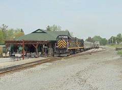 DSC06452R (mistersnoozer) Tags: shortline rr railroad rgvrrm excursion train alco locomotive lal c425