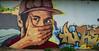 Saarbrücken | Murial 3 (Wolfgang Staudt) Tags: saarbruecken streetart graffiti kunst kunstwerk murial gerstespechtefernglas reflektion saarland promenade berlinerpromenade bauten bauwerke stadt staedtischesmotiv stimmungsvoll grossstadt westspange westspangenbruecke lichtspiel abendhimmel reflection
