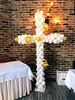 #Christenings (PartiLife) Tags: christenings communions baptisms pink white gold bling centerpieces sculptures angel cross jumbocross jumboangel foilcross mylarcross totebag customlabel