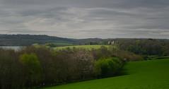 Spring Greens (suerowlands2013) Tags: shillinghammanorfarm saltash secornwall farming spring riverlynher trees cloudysky lightgreycloud incecastle green