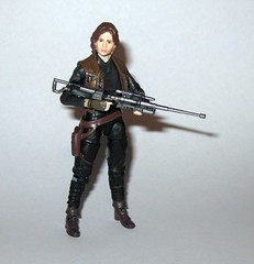 VC119 jyn erso star wars the vintage collection star wars rogue one basic action figures 2018 hasbro j (tjparkside) Tags: jyn erso star wars vintage collection tvc vc vc119 119 basic action figures 2018 hasbro figure thevintagecollection mosc sniper rifle pistol blaster stock vest holster kenner rogue one 1 story
