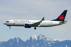 CYVR - Air Canada B737 MAX 8 C-FSJJ (CKwok Photography) Tags: yvr cyvr aircanada b737 max8 cfsjj