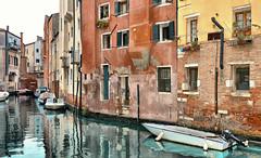 venice corners (poludziber1) Tags: street streetphotography city cityscape colorful color italia italy venezia venice travel urban water boat