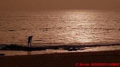 M'bour - The Blue Africa - Coucher de Soleil (soyouz) Tags: geo:lat=1442169734 geo:lon=1699084461 geotagged saliniakhniakhal sen senegal thiès plage mer atlantique sunset mbour regiondethies sénégalle