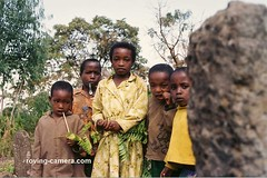 Group-of-Children-in-Tutu-Fella,-Ethiopia (deemixx) Tags: ethiopia eastafrica africa ancientruins archeologicalsite lostcultures mysteriousruins