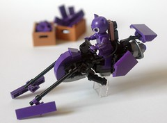 Purple Haze (hmick_) Tags: lego speeder bike