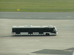 Cobus 3000, #2068,  LS Airport Services (transport131) Tags: bus autobus waw ls airport services cobus 3000