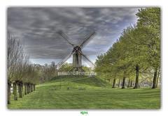 SINT-JANSHUISMOLEN in BRUGGE (régisa) Tags: mill windmill sintjanshuismolen brugge bruges belgië belgique molen moulin westvlaanderen kruisvest