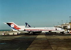 Gatwick Ramp (Gerry Rudman) Tags: dan air london gatwick boeing 727200 airport ramp