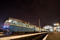 ЧС8 (akifumiふぐ) Tags: ukraine lviv locomotive night