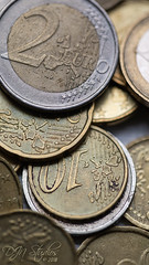Macro Objects: Euro Coins (DJNstudios) Tags: macro macrophotography coins pills cork corks euro euros motherboard chips microchip circuitry