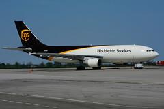 N163UP (UPS) (Steelhead 2010) Tags: ups unitedparcelservice airbus a300 a300600f cargo yhm nrreg n163up