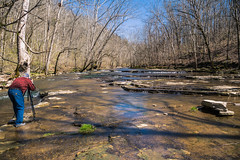Photographing cascades (sniggie) Tags: lowerhowardscreek lowerhowardscreeknatureandheritagepreserve cascades heritagepreserve creek
