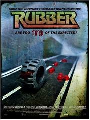 RUBBER (LegoKlyph) Tags: lego custom brick block tire round minifigure plastic horror robert movie nerd blood french psychic