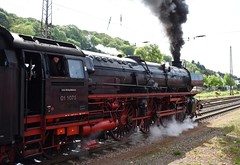 Merzig Rhineland-Palatinate Germany 29th April 2018 (loose_grip_99) Tags: railway railroad rail merzig rhinelandpalatinate germany deutschland dampf spektakel steam engine locomotive db class 01 pacific 462 1075 ssn netherlands preservation transportation gassteam trains railways smoke april 2018