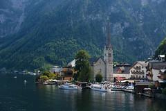 20170827-Canon EOS 6D-2391 (Bartek Rozanski) Tags: hallstatt oberosterreich austria lake austrian mountains alps alpine church village landmark boat tourist valley