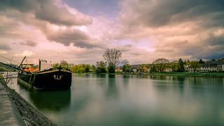 Long exposure Meuse Belgium - 5050