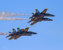 United States Navy Blue Angels performing at the 2018 Luke Days, Luke Air Force Base in their Boeing F/A-18C Hornet's (Hawg Wild Photography) Tags: ba1 commander eric c doyle ba2 lieutenant damon kroes ba3 major jeff mullins ba4 nate scott usn aviation blueangels 2018lukedays lukeairforcebase boeing fa18c hornet terrygreen hawg wild photography