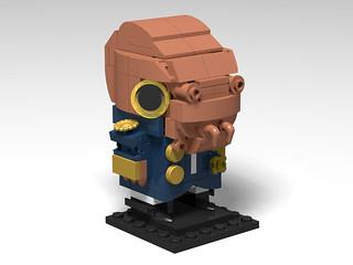 Admiral Ackbar BrickHeadz