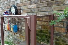 20180404_1330_403_RainBarrel_Tower (EasyAim) Tags: 2018 rainbarreltower repair rotted wood colleyville usa