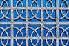 Looped (A Different Perspective) Tags: bali batubelig seminyak blue concreteblock hole pattern wall