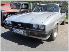 Ford Capri MkIII, 2.0 S, 1979 (v8dub) Tags: ford capri mk iii 2 s 1979 allemagne deutschland germany german niedersachsen debstedt pkw voiture car wagen worldcars auto automobile automotive youngtimer old oldtimer oldcar klassik classic collector