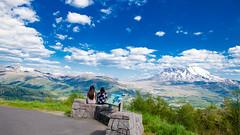 Mount Saint Helen, Washington (Mahin Rony) Tags: mountain traveler travel backpackers volcano seattle washington tourism hiking lake greatnature sky blue