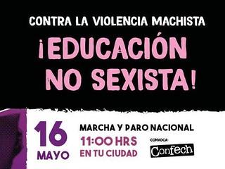 Marcha feminista y antipatriarcal