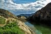 landscape.......... (atsjebosma) Tags: bergen rivier ebre wolken clouds landschap rotsen atsjebosma spain spanje 2018