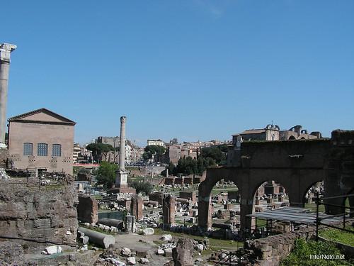 Римський форум, Рим, Італія InterNetri Italy 385