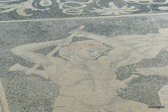 Villa of Dionysus (Dionysos), Deer Hunt Mosaic (6).JPG (tobeytravels) Tags: alexanerthegreat alexander3rd philip11 macedon macedonia herodotusofhalicarnassus xerxes thucydides archelaus amyntas zeuxis timotheusofmiletus roman egnatia colony hippodamian phacos pebble