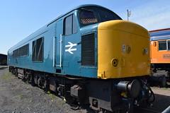 45041 at Kidderminster, Severn Valley Railway (colin9007) Tags: br sulzer peak class 45 45041 d53 royaltankregiment