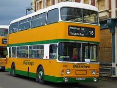 Sunderland Busways 838 (RCU838S) - 22-04-18 (02) (peter_b2008) Tags: sunderlandbusways tyneandwearpte twpte 838 rcu838s daimler fleetline alexander preserved buses transport buspictures
