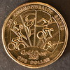 Commonwealth Games,Gold Coast Australia 2018, $1[7 of 7 coins] (Dreaming of the Sea) Tags: commonwealthgames 1 2018 australia queensland goldcoast xxi money currency coins nikond7200 tamronsp90mmf2811macro gold