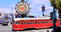 Fishermans Wharf (M McBey) Tags: sanfrancisco fishermanswharf tourist tram california
