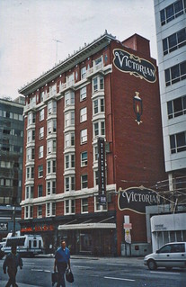 San Francisco  California  -  Victorian Hotel - Historic - Now Called The Mosser Hotel