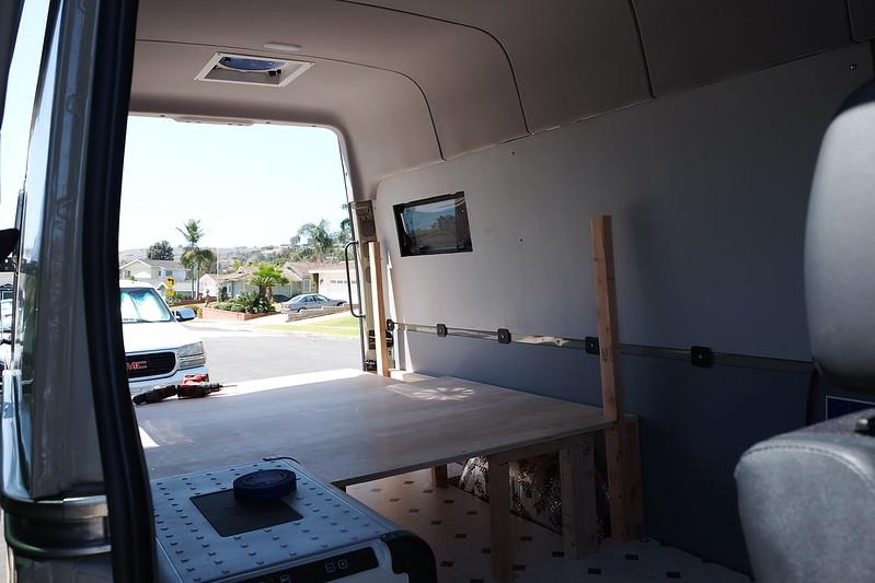 Sprinter van build day 19 042718