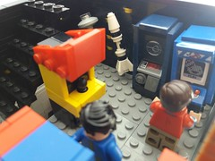 Lego modular arcade and space musem (eddiemck123) Tags: lego city creator modular moc video games space toy minifigure