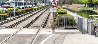 DRIMINAGH LUAS TRAM STOP [THE GOLDENBRIDGE CEMETERY IS ON THE OTHER SIDE OF THE FOOTBRIDGE]-139176