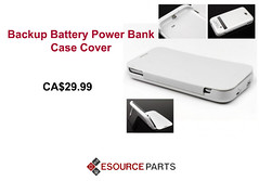 4200mAh External Backup Battery Power Bank Case Cover (esourceparts) Tags: samsung accessories canada phone mobile cell online shop store