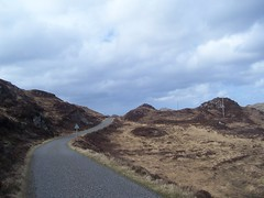 Road to Bostadh, Great Bernera, April 2018 (allanmaciver) Tags: great bernera western isles outer hebrides bleak rugged boggy road single track narrow twisty good condition passing place allanmaciver