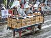 Vendedor ambulante de espuma | Carnaval de Negros y Blancos de Pasto (RosarioCano de Villarreal) Tags: people amateurs cultura turismo travel gente lumix latinoamerica unesco negrosyblancos colombia nariño pasto espuma carnaval