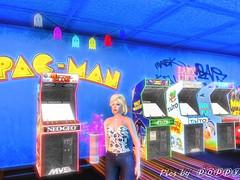 Imesha North Seahill Japan - Retro (Poppys_Second_Life) Tags: 2l japan northseahill picsbyⓟⓞⓟⓟⓨ popi popisadventuresin2l popikone popikonesadventuresin2l poppy sl secondlife virtualphotography retro futuristic arcade gaming pacman
