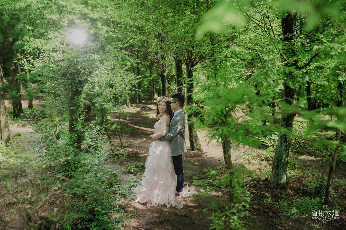婚紗攝影,陽明山
