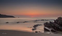 Moment magique (Vince MESLET) Tags: cotesdarmor erquy plage bretagne coucherdesoleil lanruen mer nature paysage vague ngc