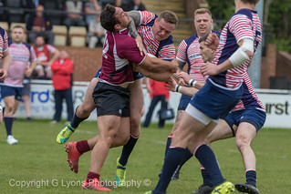 Lancashire RFU v Eastern Counties RFU - Rugby Union County Championship 2018. 12th May 2018