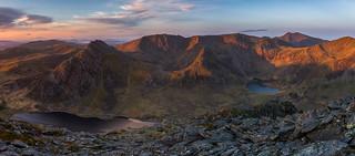 'Glyderau Daybreak' - Ogwen Valley, Snowdonia