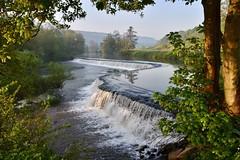 Warleigh Weir (Nige H (Thanks for 20m views)) Tags: nature landscape river riveravon waterfall weir warleighweir claverton england spring light leaves