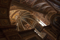 Abbazia di San Pietro, Perugia (ScotchBroom) Tags: abbazia cathedral cattedrale basilica sanpietro church chiesa frescos affreschi paintings art italy italia perugia umbria italianart interior ceiling